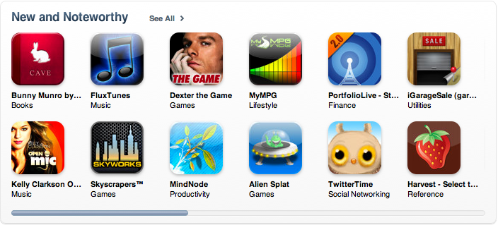 iGarageSale - New And Noteworthy in iTunes